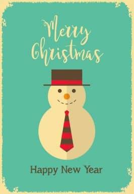 Gift Certificate Christmas - Snow Man