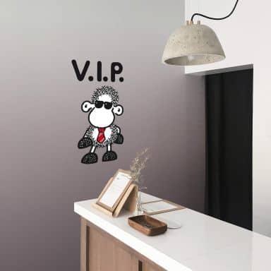 Muursticker Sheepworld VIP