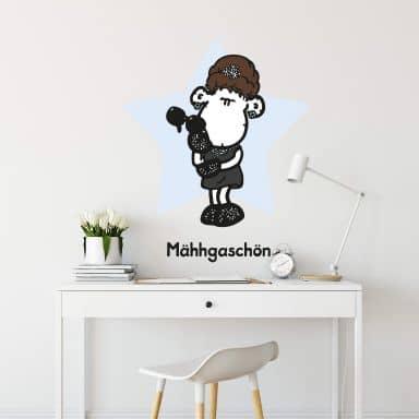 Wandtattoo sheepworld Mähhgaschön