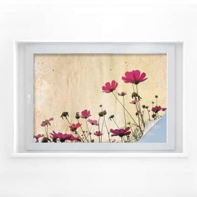 Raamfolie – Flower stories