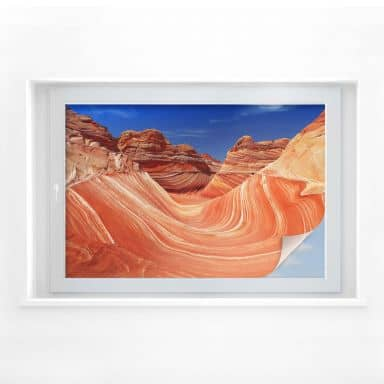 Sichtschutzfolie - The Wave in Arizona