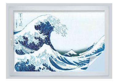 Sichtschutzfolie Hokusai - Die große Welle