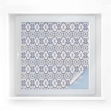Window foil Dutch Tiles 03