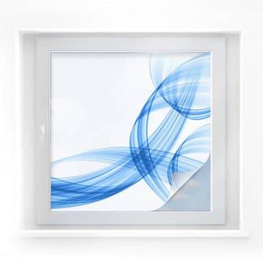 Sichtschutzfolie Illustration 03 - quadratisch