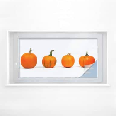 Window foil Pumpkins