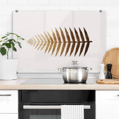 Spatscherm Kubistika - Golden Fern