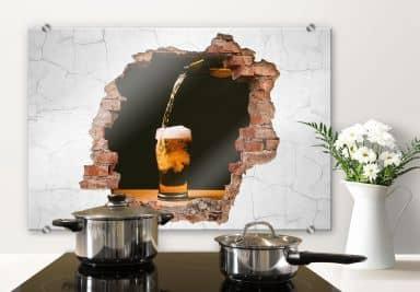 Splashback 3D optics – Fresh Beer
