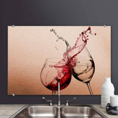Splashback Wineglasses