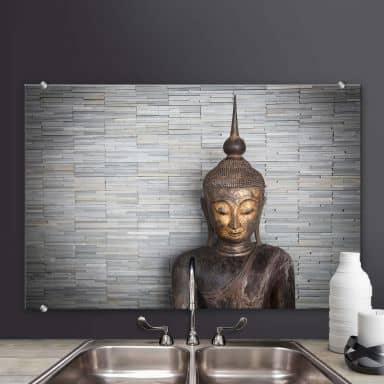 Pannello paraschizzi  Buddha tailandese