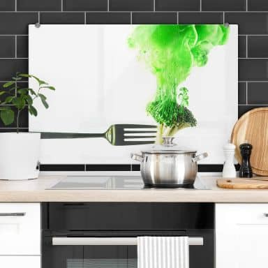 Spritzschutz Belenko - Steamed Broccoli
