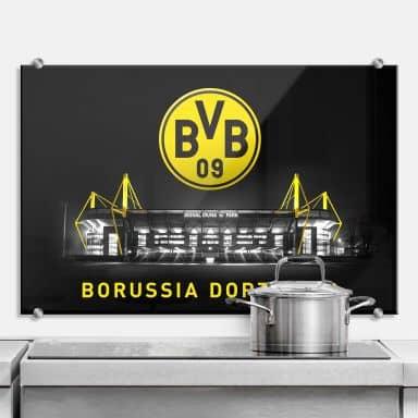 Splashback - BVB Signal Iduna Park by Night - Logo