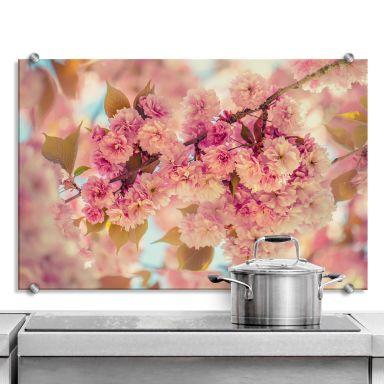 Spritzschutz Delgado - Kirschblüten