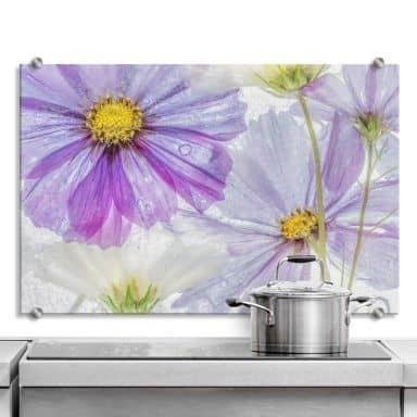 Spritzschutz Disher - Frozen Flowers