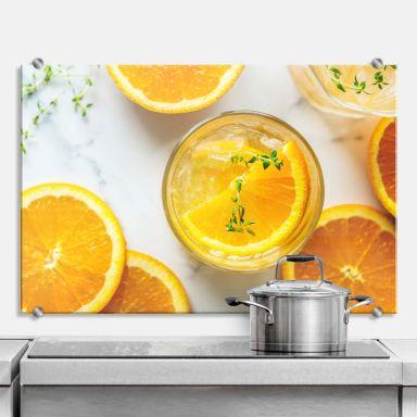 Spritzschutz Frische Orange
