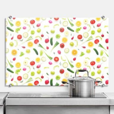 Splashback - Fresh Vegetables 01