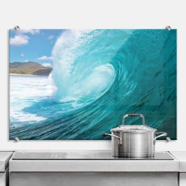 Wave - Kitchen Splashback