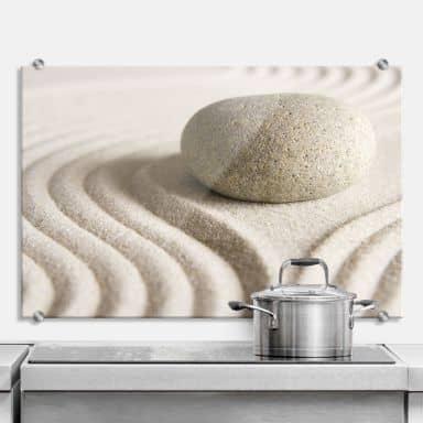 Spritzschutz Stone in Sand 1