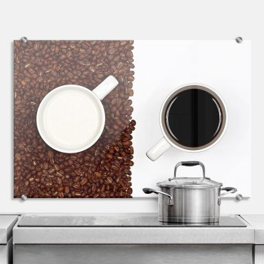 Spritzschutz Lavsen - White Espresso
