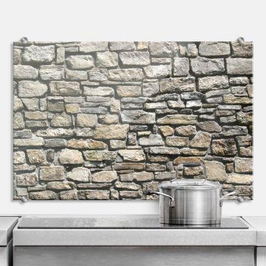 Stone Wall - Kitchen Splashback