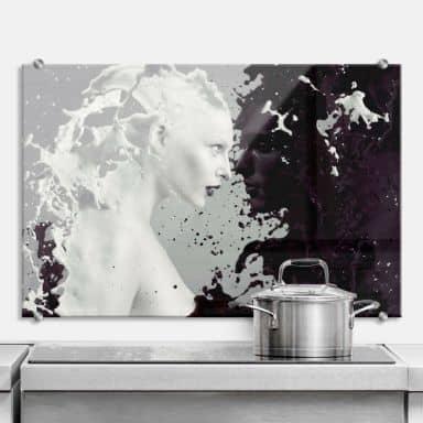 Spritzschutz aus ESG Sicherheitsglas für Küche & Bad | wall-art.de