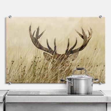 Watchful Deer - Kitchen Splashback