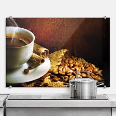 Küchenrückwand Coffee 1