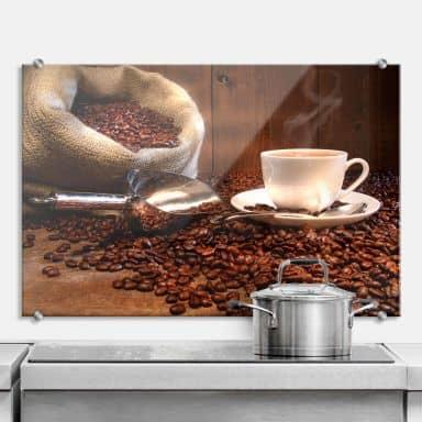Coffee Pleasure - Kitchen Splashback