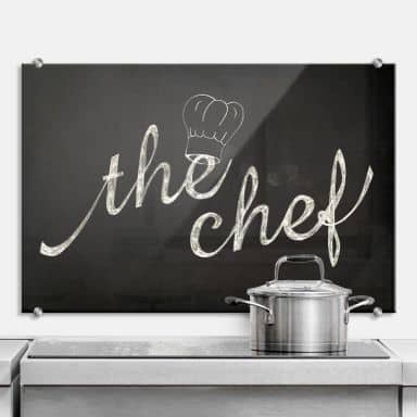 The Chef - Kitchen Splashback