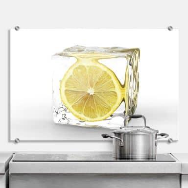 Crédence - Citron dans glaçon