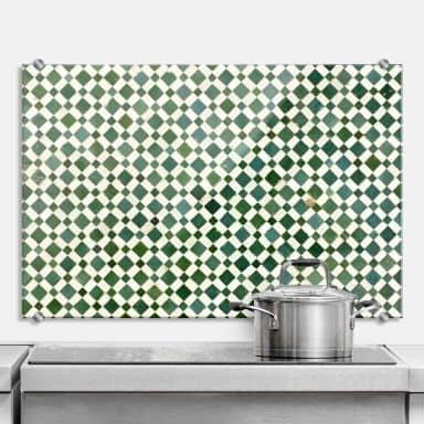 Küchenrückwand Mosaik - 02