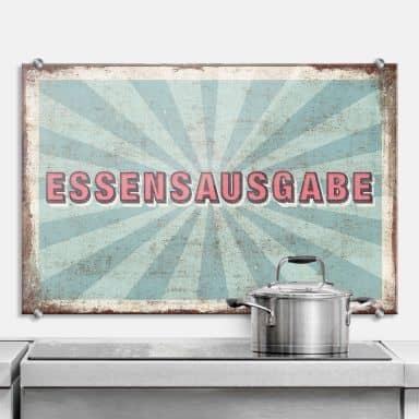 Spritzschutz aus ESG Sicherheitsglas für Küche & Bad   wall-art.de