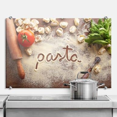 Küchenrückwand Pasta - Tortellini