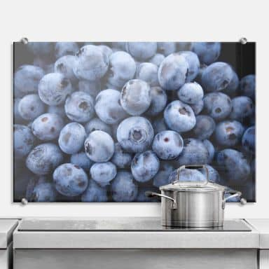 Blueberries - Kitchen Splashback