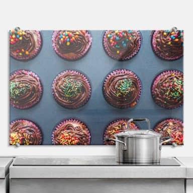Spatscherm Birthday Muffins