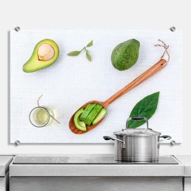 Fresh Avocado - Kitchen Splashback