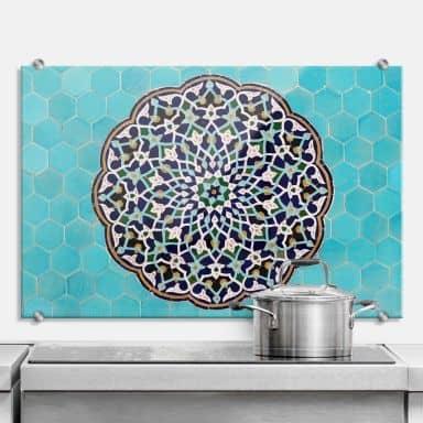 Spritzschutz Mosaik aus dem Abendland