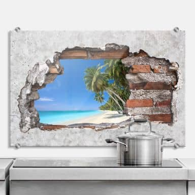 Splashback 3D optics – Paradise