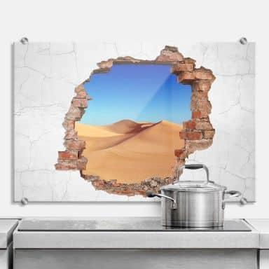 Splashback 3D optics – Desert sand