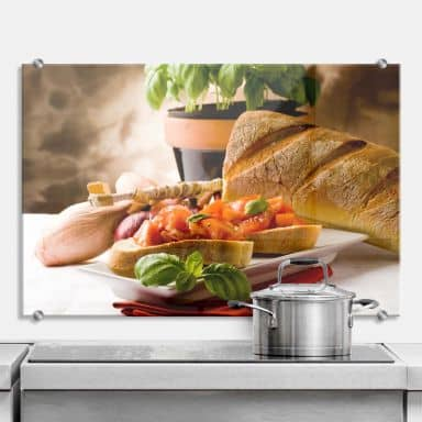 Bruschetta all\'Italiana - Kitchen Splashback