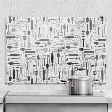 Spritzschutz transparent Cooking Time