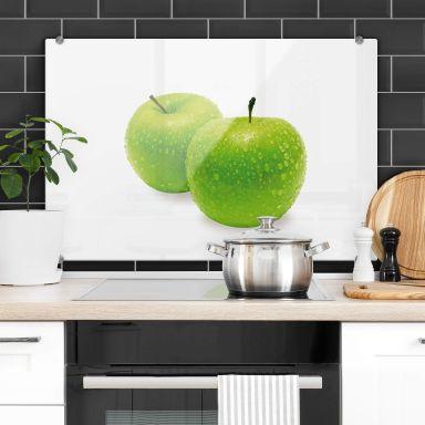 Green Apple - Kitchen Splashback