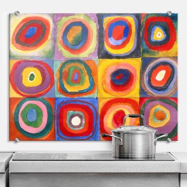 Splashback Kandinsky – Colour Study