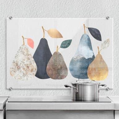 Splashback transparent Fredriksson Perfect Pears