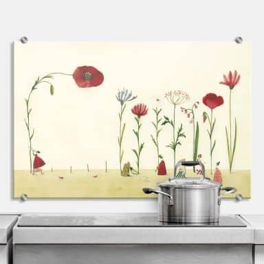 Spritzschutz Leffler - Blumensamen