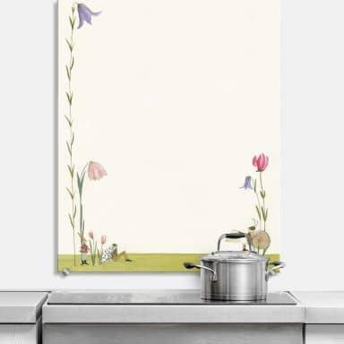 Spritzschutz Leffler - Blütenschnecke
