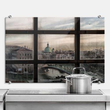Spritzschutz Marini - Fenster in Venedig