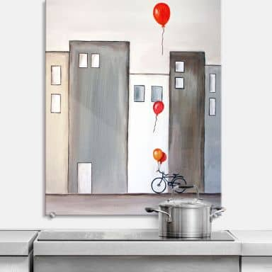 Spritzschutz Melz - Der Ballonverkäufer - hochkan