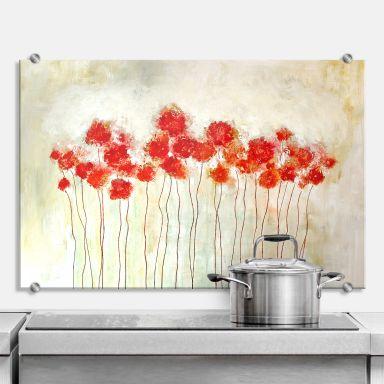 Spritzschutz Melz - Flowers