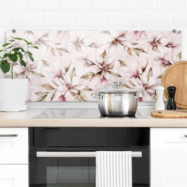 Spritzschutz UN Designs - Soft Magnolia - Panorama