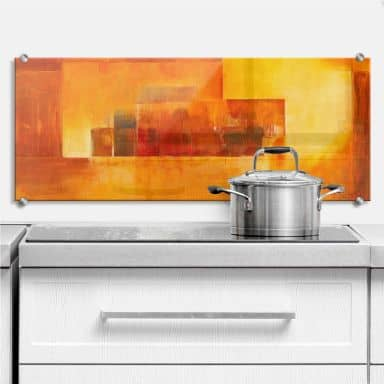 Schüßler - Indian Summer - Kitchen Panorama - Splashback